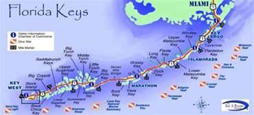 florida mile marker map henry flagler the florida mile markers