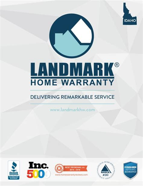 landmark home warranty brochure kiosque de joomag