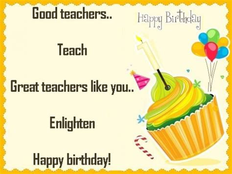 Happy Birthday Greeting Cards For Teachers Happy Birthday Wishes To Teacher Birthday For Teacher