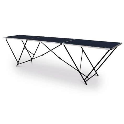 tavoli da tappezziere relaxdays tavolo da tappezziere pieghevole struttura in