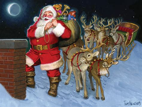 rooftop santa and reindeer up on the rooftop 400 family puzzle by cobble hill