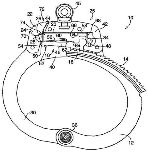 patent us7251964 double locking handcuffs google patents