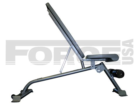 decline benches force usa utility flat incline decline bench macarthur
