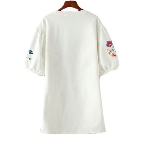 Arya Tunic Dress Jumbo arya floral embroidered summer tunic