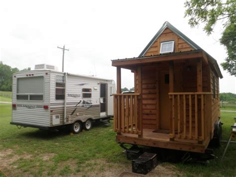 living large in a tiny home the rving lifestyle