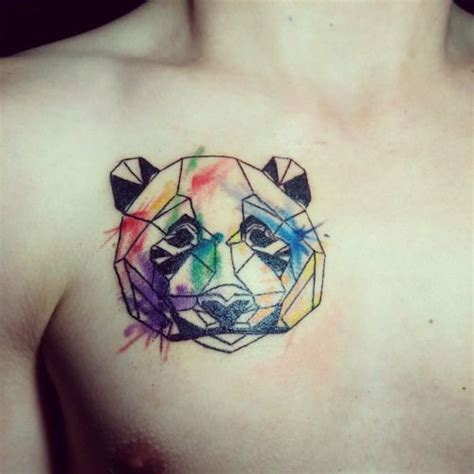 Panda Chest Tattoo Tumblr | 363 best images about panda tattoos on pinterest