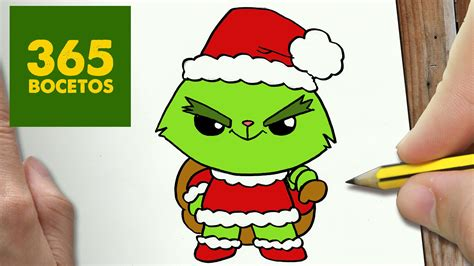 imagenes de navidad grinch como dibujar un grinch para navidad paso a paso dibujos