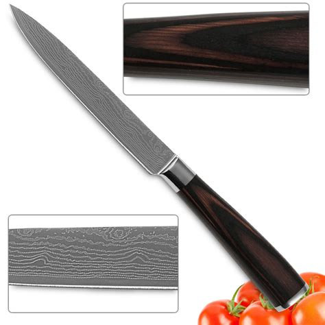 kitchen knives 5 inch utility knife 7cr17 stainless steel