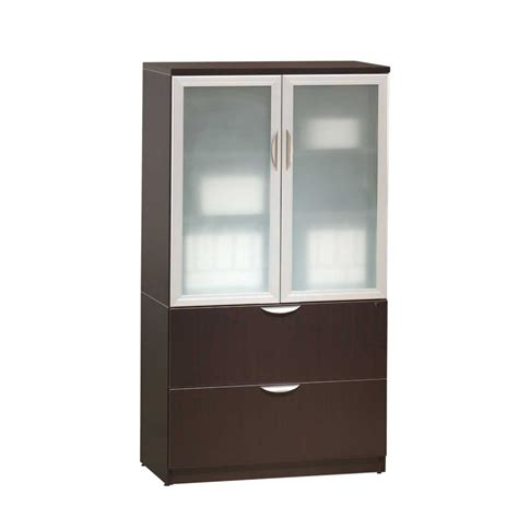 lateral file with storage cabinet classic glass door storage cabinet lateral file combo