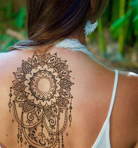 henna tattoo back piece 90 stunning henna designs to feed your temporary