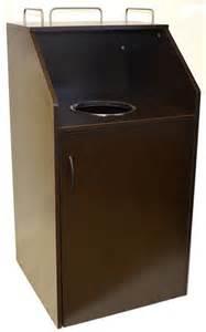 commercial restaurant trash receptacle quick ship
