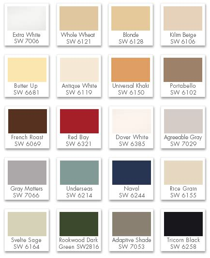 certapro painters classic color palette by certapro