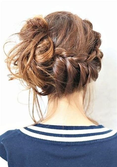 Braided Hairstyles Messy   romantic messy hairstyles for all women pretty designs