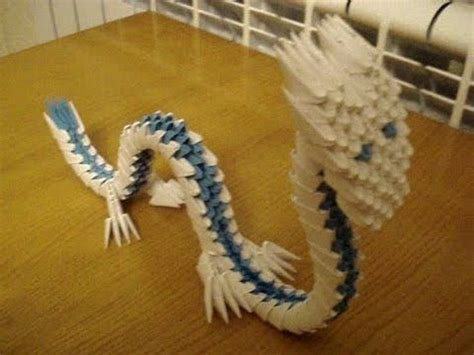 origami 3d dragon tutorial español 3d origami chinese dragon tutorial for a tutorial request