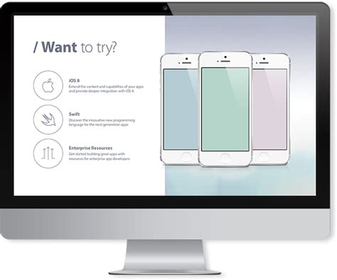 iphone app keynote template improve presentation