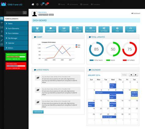 best admin panel template 15 best responsive admin panel templates