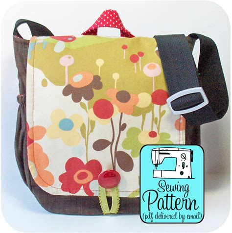 bag making pattern pdf messenger bag sewing pattern pdf pattern email delivery