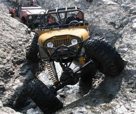 jeep rock crawler flex impressive off road jeeps 21 photos izismile com