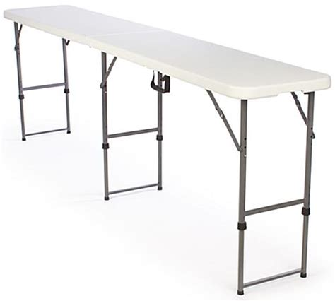 counter height folding table legs folding tables adjustable height plastic top