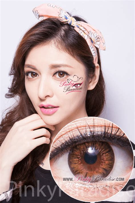 Circle 03 Brown g g bt03 brown circle lenses colored contacts