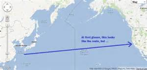 map california japan routing pt 1 or how do i cross the pacific greg