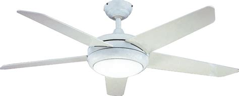 fantasia 114086 52in neptune white ceiling fan with light