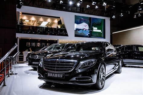 mercedes car lineup 2017 shanghai auto show mercedes lineup by brabus