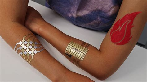 smart tattoo next step and the future of wearables