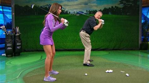 holly sonders golf swing pin by cora tucker on golf tips pinterest