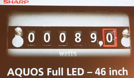 Kulkas Sharp Low Voltage sharp launches ultra low power lcd tvs the register
