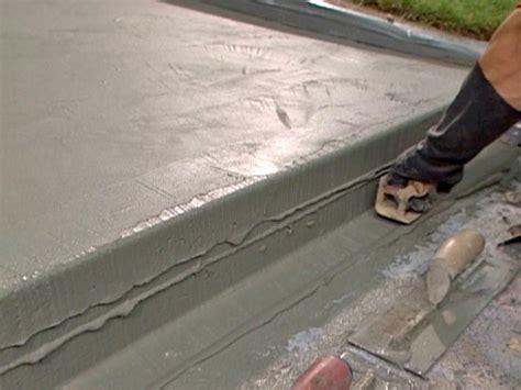 Concrete Porch Steps Concrete Floor how to patch and resurface concrete steps how tos diy