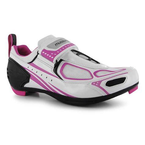 waterproof bike shoes muddyfox womens tri100 cycling shoes waterproof