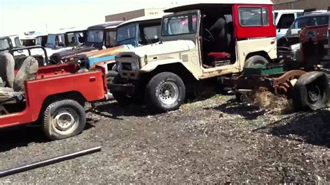 Toyota Junk Yard Land Cruiser Junkyard