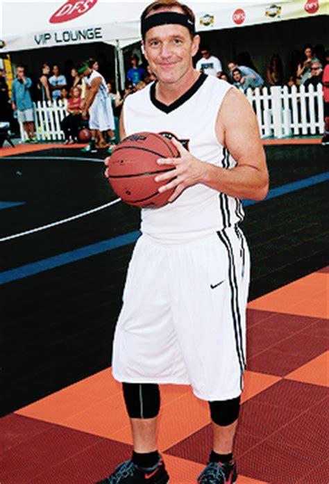 clark gregg basketball clark at the 3rd annual josh hutcherson celebrity