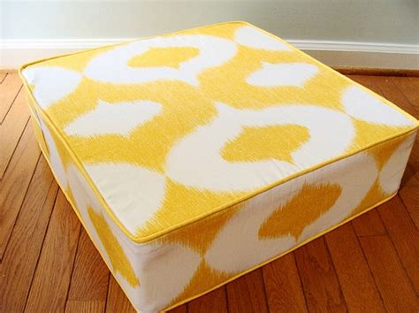 large cushion pillows furniture yellow floor cushions with large floor