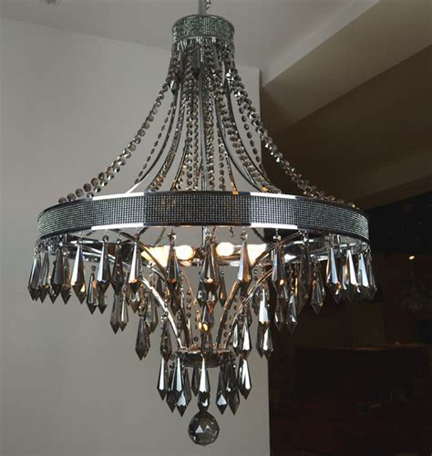 Modern Black Chandeliers Modern Smoke And Black Metal Chandelier Contemporary Chandeliers New York By