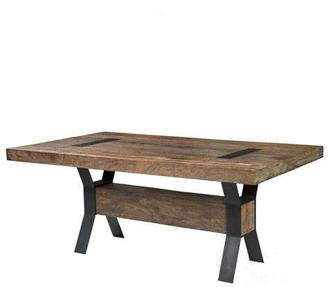 American Village Restaurant Wood Tables Nordic Industrial Retro Style Dining Table
