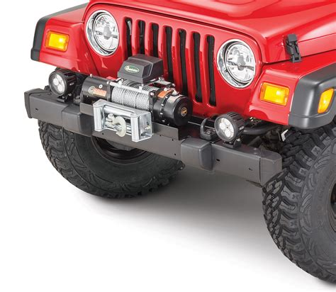 jeep yj winch quadratec q9000 self recovery winch in black winch