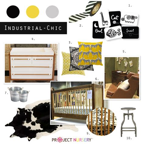 two tone furniture trend project nursery 2013 nursery trends industrial chic