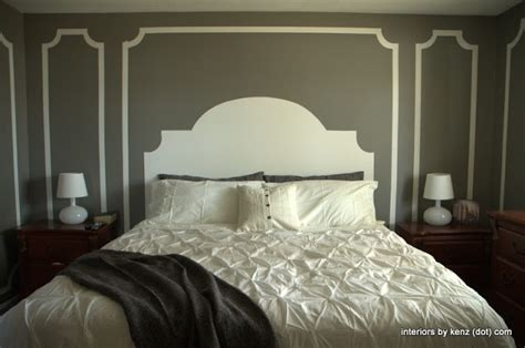 headboard painting ideas 25 best ideas about painted headboards on pinterest