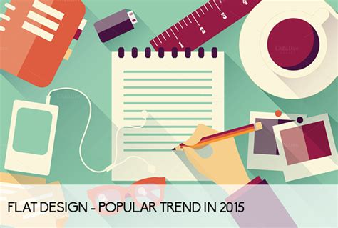 graphic design styles a round up of popular graphic design trends in 2015