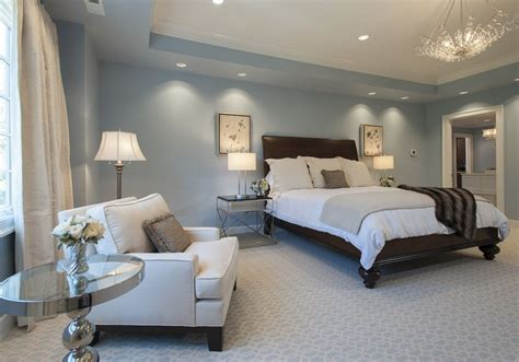 light blue and grey bedroom bedroom window treatment ideas featured in light blue