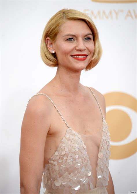 fake cuts clare claire danes hair at the 2013 emmys causes heated twitter