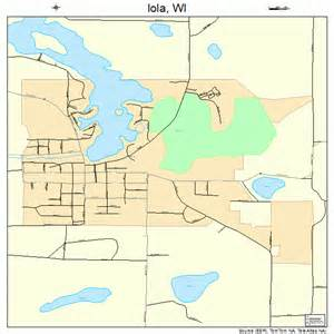 iola wisconsin map 5537025