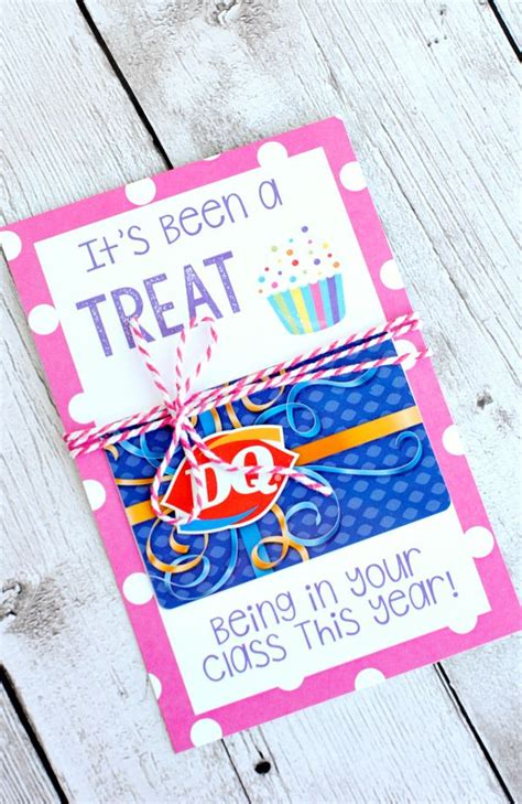 Teacher Gift Card Ideas - teacher appreciation gift ideas