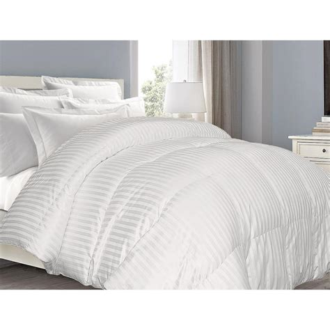cotton sateen comforter blue ridge down alternative 700tc cotton sateen full queen