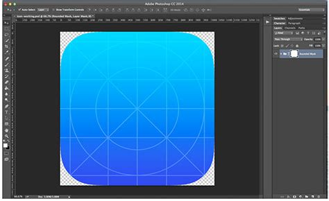 design an app icon how to create a sleek ios app icon in photoshop designmodo