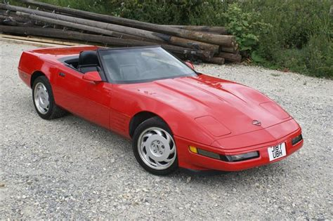 car owners manuals for sale 1992 chevrolet corvette lane departure warning classic 1992 corvette c4 red 6 speed manual lt1 convert for sale classic sports car ref