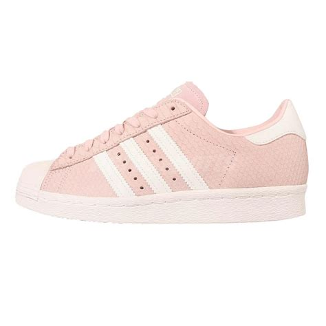 adidas originals superstar 80s w reptile pink white womens casual shoes s75059
