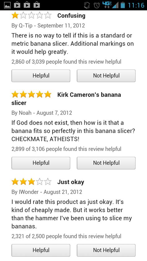 Banana Slicer Meme - image 535411 banana slicer reviews know your meme